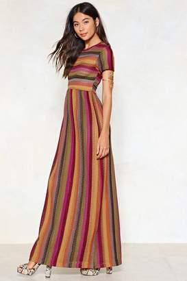 Nasty Gal Stripe One Maxi Dress