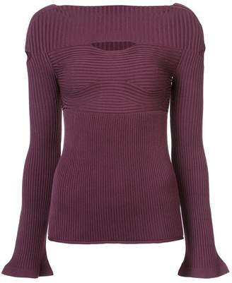 Cushnie et Ochs cut out sweater
