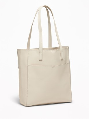 Old Navy Faux-Leather Pocket Tote for Women