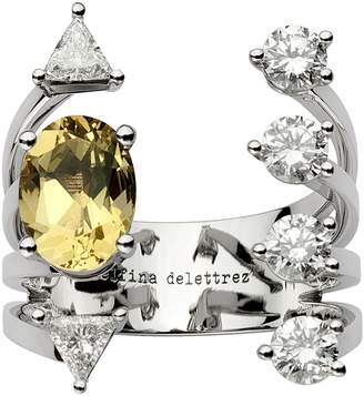 Delfina Delettrez Today Tomorrow Dots Ring