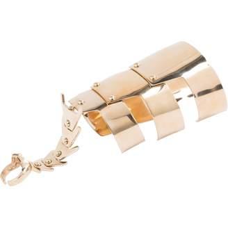 Giuseppe Zanotti Gold Metal Bracelet