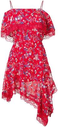 Liu Jo floral asymmetric dress