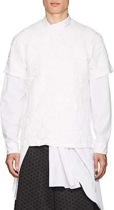 Comme des Garcons Men's River Rock-Embossed Cotton Jersey T-Shirt