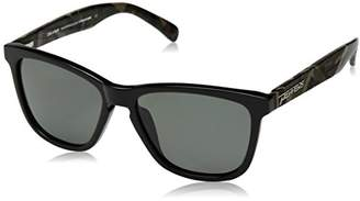 Pepper's Unisex-Adult Black Sands MP4601-41 Polarized Wayfarer Sunglasses