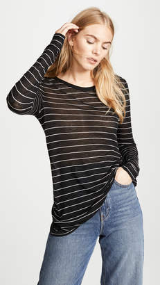Alexander Wang Striped Long Sleeve Tee
