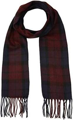 New Look Men's Check Scarf,One (Manufacturer Size: 99)