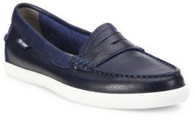 Cole Haan Pinch Weekender Leather Loafers $100 thestylecure.com