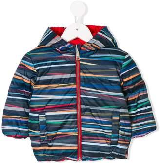 Paul Smith Stripe Stick reversible padded jacket