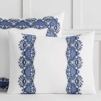 Pottery Barn Teen Anna Sui Romantic Dreams Lace Sham, Standard, Navy/Ivory