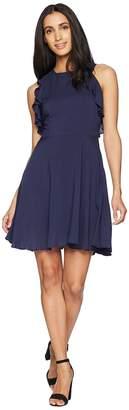 BB Dakota Samantha Ruffle Fit and Flare Dress Women's Dress