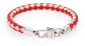 BallyBally Woven Leather Bracelet