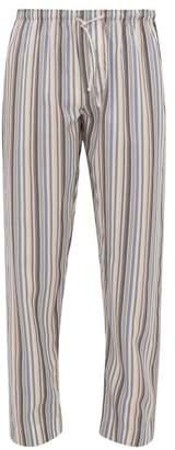Zimmerli Striped Poplin Pyjama Trousers - Mens - Multi