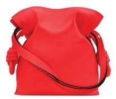 Loewe Flamenco Knot Leather Shoulder Bag