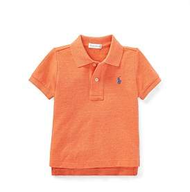 Polo Ralph Lauren Cotton Mesh Polo Shirt (6-24 Months)