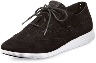 Cole Haan Grand Tour Oxford Sneaker, Black $139 thestylecure.com