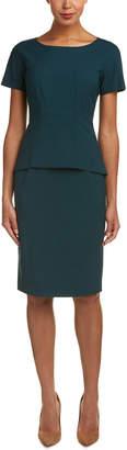 Lafayette 148 New York Alesandra Wool-Blend Sheath Dress