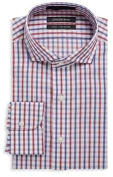 Saks Fifth Avenue Check Cotton Dress Shirt