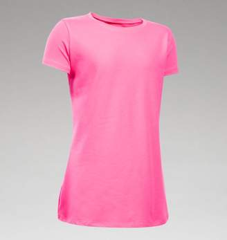 Under Armour UA Girls Charged Cotton