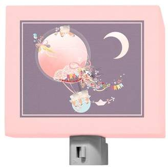 Oopsy Daisy Fine Art For Kids Kites and Kittens Night Light
