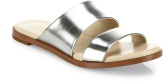 Cole Haan Anica Metallic Leather Slides