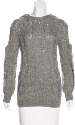 Preen by Thornton Bregazzi Preen Wool-Blend Cable Knit Sweater