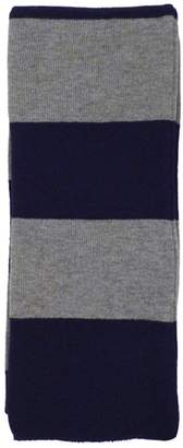 Simplicity Cozy Rugby Scarf w/ Bold Striped Pattern