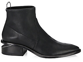 Alexander Wang Women's Kori Stretch Leather Booties