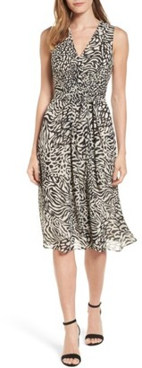 Women's Anne Klein Print A-Line Dress $139 thestylecure.com