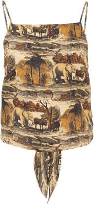 Nanushka Sammi Printed Top