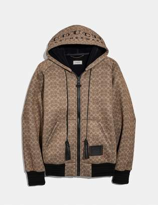 """Coach Signature """"Couch"""" Hoodie"""