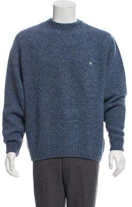 Burberry Chunky Wool Crew Neck Sweater