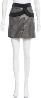 Robert Rodriguez Textured Mini Skirt