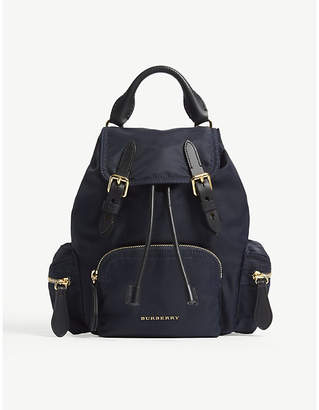 Burberry Ink Blue Small Cross Body Rucksack