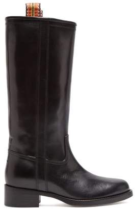Etro Leather Boots - Womens - Black