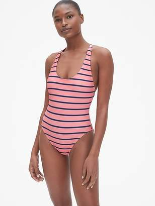 Gap Crossback One-Piece Suit