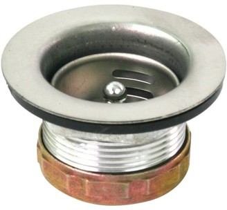Everflow Chrome Plated Stainless Steel Junior Duo Strainer