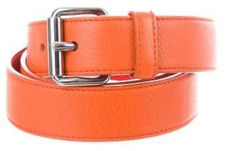 Prada Grain Leather Belt