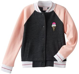 Girls 4-10 Jumping Beans® Colorblock Ice Cream Bomber Jacket $40 thestylecure.com