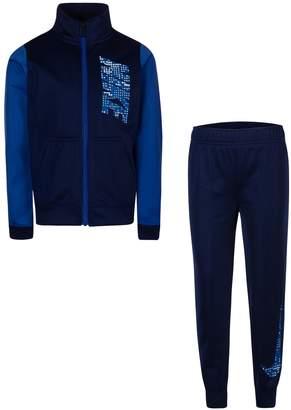 Nike Boys 4-7 Colorblock Zip Track Jacket & Jogger Pants Set