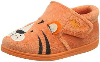 Chipmunks Boys' Tommy Low-Top Slippers, (Orange), 21 EU