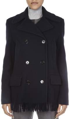 Golden Goose Navy Wool Coat
