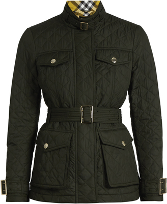 BURBERRY Haddington quilted jacket $619 thestylecure.com
