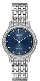 CitizenCitizen Eco-Drive Women's Silhouette Crystal Stainless Steel Watch - EX1480-58L