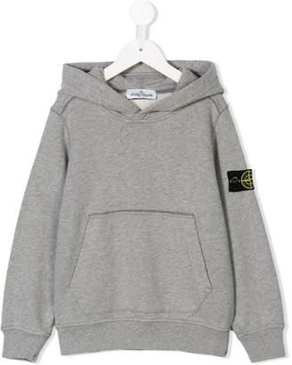 Stone Island Junior long-sleeve hoodie