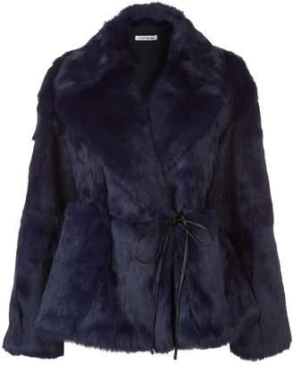 Elizabeth and James Bibi Rabbit Fur Jacket