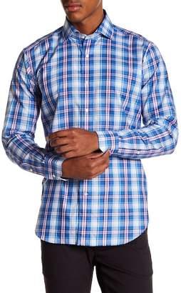 Peter Millar Pianosa Plaid Refined Fit Long Sleeve Shirt