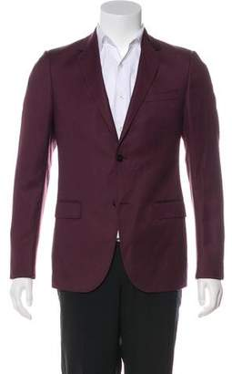 Gucci Deconstructed Patterned Wool & Mohair Blazer