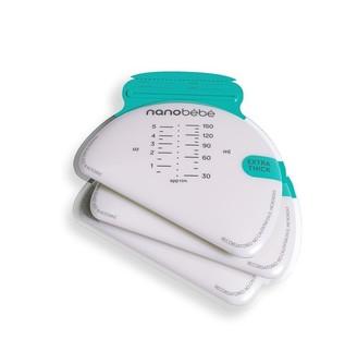 Baby Essentials Nanobébé Nanobebe Breastmilk Storage Bags (25) and Organizer
