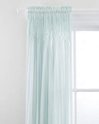 "Pine Cone Hill Heirloom Voile Curtain Panel, 96""L"