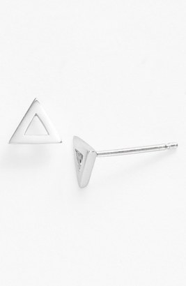 Women's Bony Levy Triangle Stud Earrings (Nordstrom Exclusive) $195 thestylecure.com